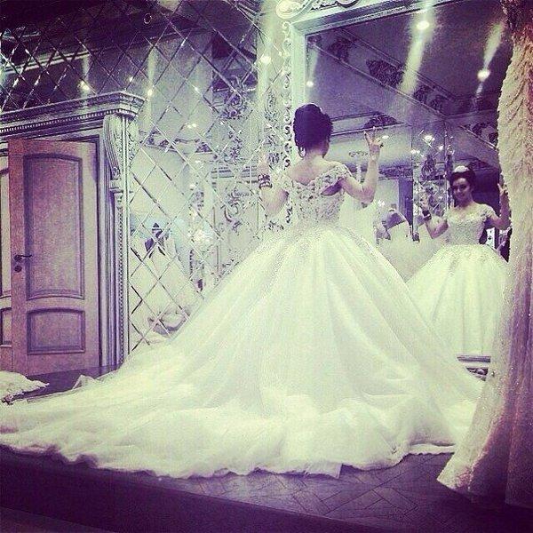 Фото платье пышные кавказской