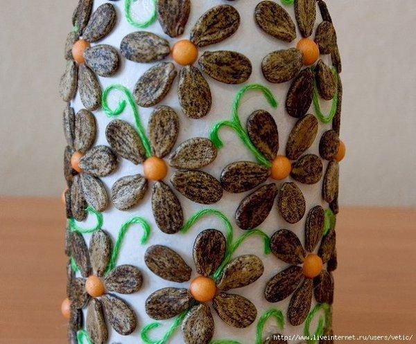 Поделки из арбузных семечек своими руками фото