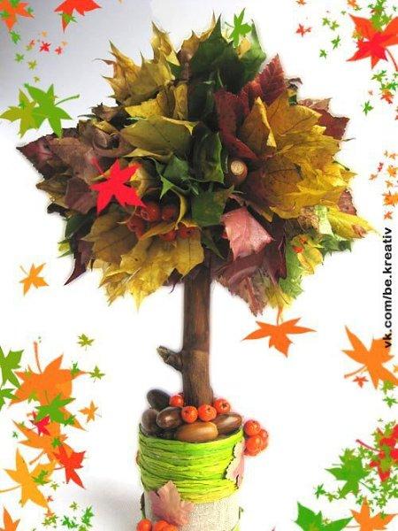 Поделка на тему осень для детского сада