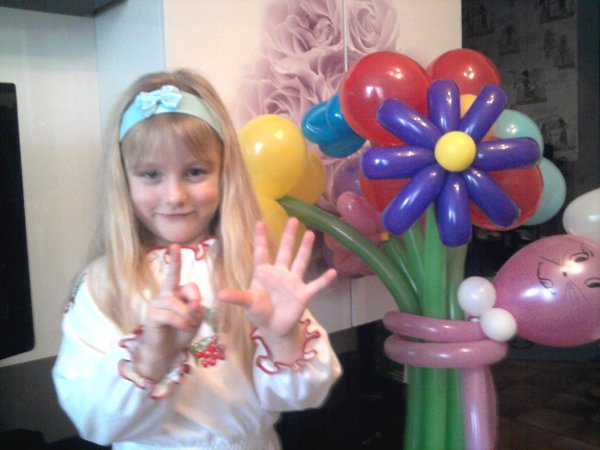 Фото подарка на Новый год: букет из шариков - Марго@ШААА!!!, 49 лет, Москва