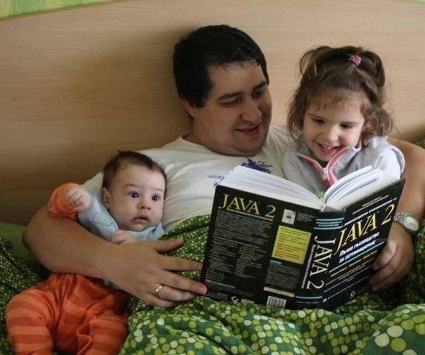 Веселые родители и их дети. Приятно видеть, когда родители действительно заботятся о своих ... - 10