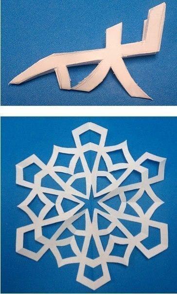 Снежинки - 3
