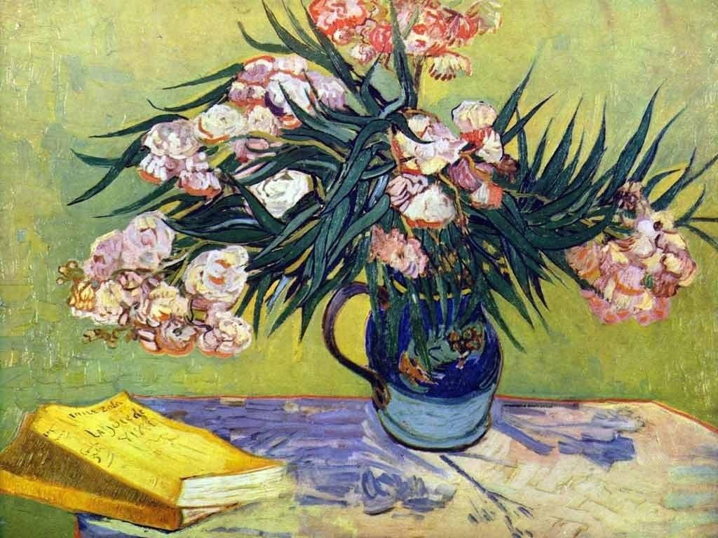 Цветочные натюрморты кисти Винсента Ван Гога