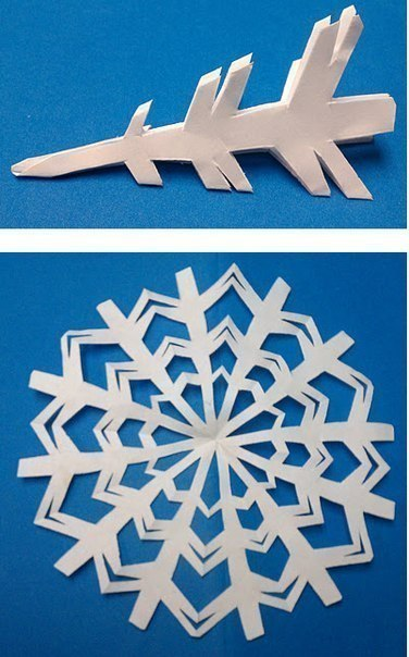 Снежинки - 4