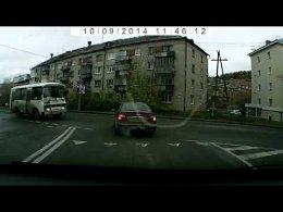 ДТП Принципиальный водитель автобуса
