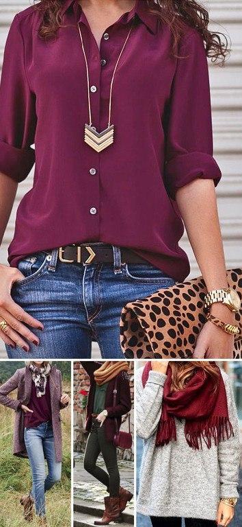 7 самых модных цветов этой осени, которые стоит включить в свой гардероб..Модные тенденции меняются ... - 4