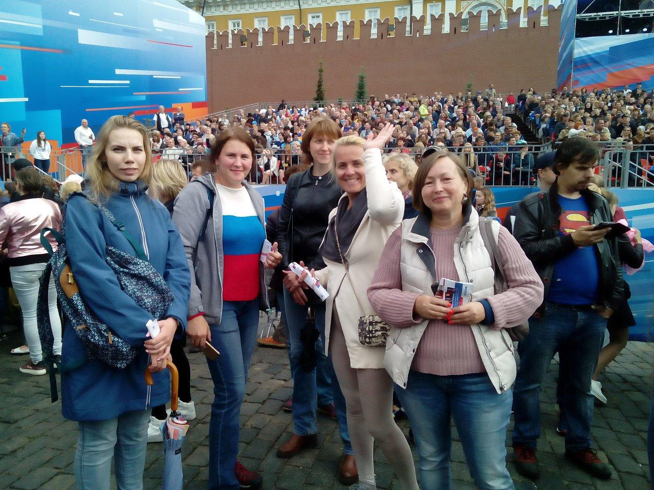 12 июня сотрудники ГБУ ЦДиС «Юность» были зрителями Большого Праздничного концерта, посвященного Дню ...