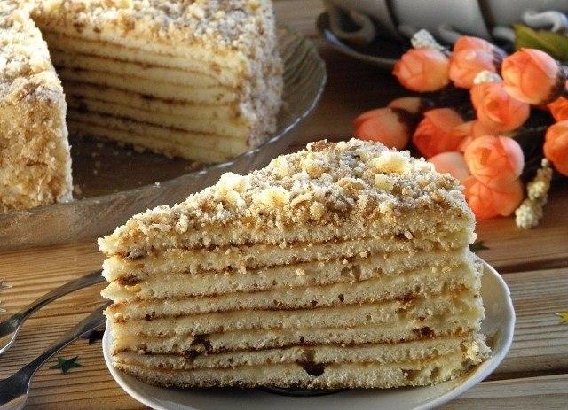 Быстрый торт на сковороде со сгущенкой.Ингредиенты:Сгущенка — 380 Грамм (1 банка)Яйцо — 1 ...