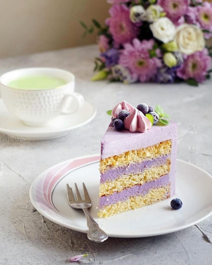 Черничныи муссовыи торт.ИНГРЕДИЕНТЫ Коржи диаметром 16 см 150 г муки 85 г размягченного сливочного ... - 2